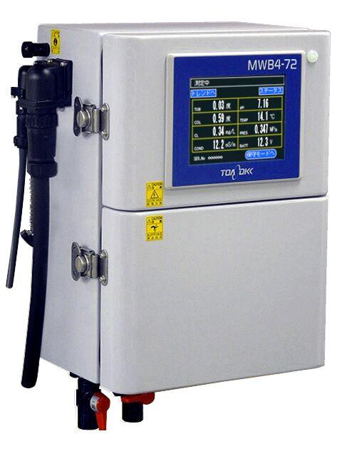 MWB4-72 - Mehrkomponenten Messgerät zur Analyse der Wasserqualität - Modernes Touch Panel und Farbdisplay - Messgerät in kompakter Bauweise
